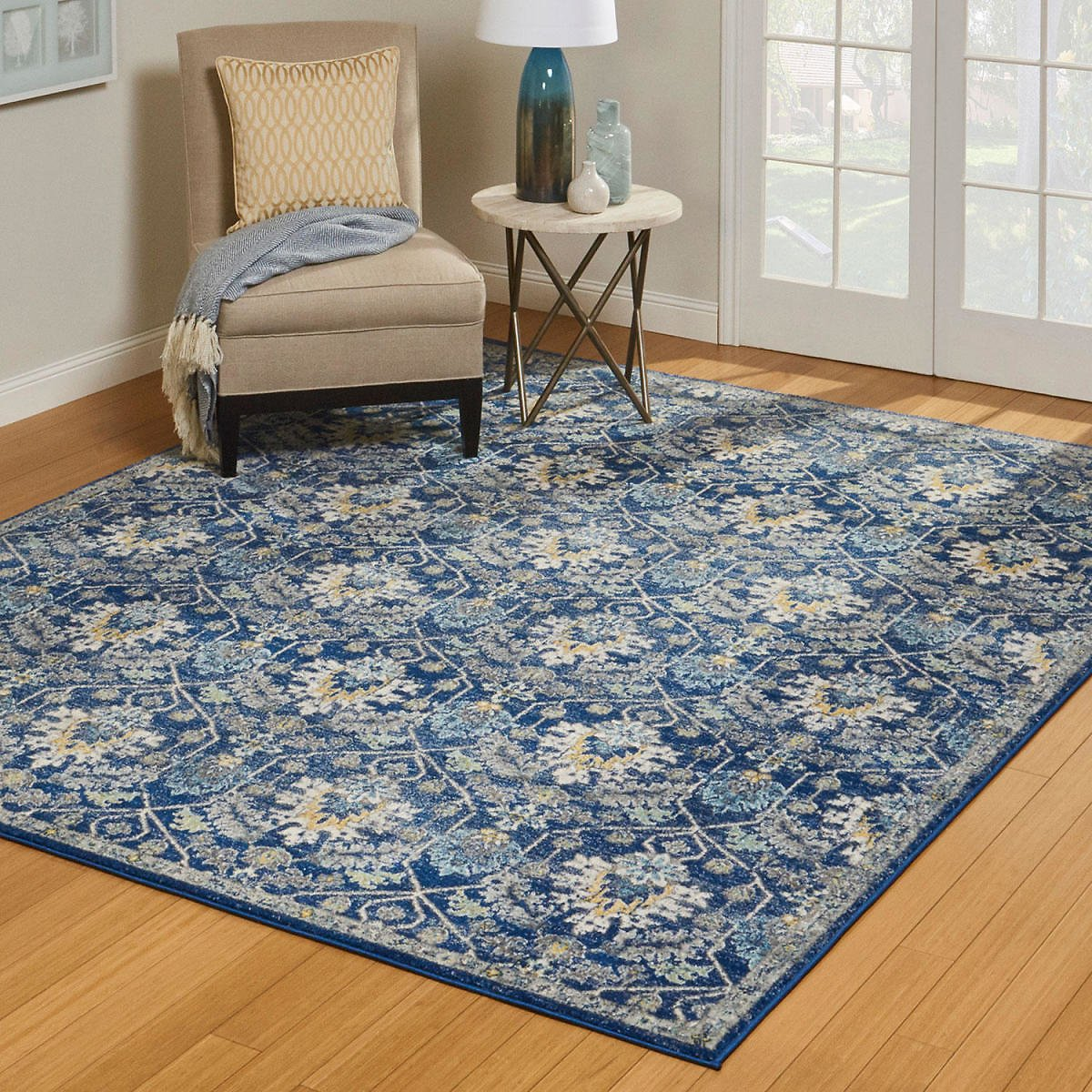 Scanda Area Rug - 8' X 10', Marlow Blue