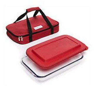 Cooks Tools 3 Piece Bake and Take Set (Mult. Colors)