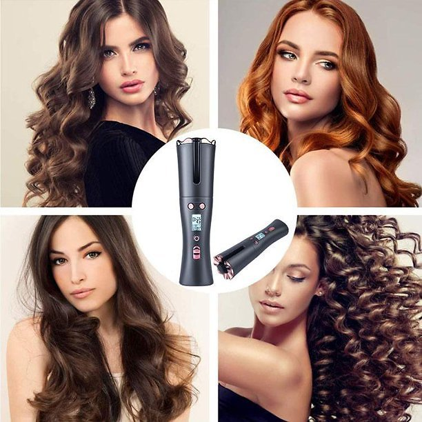 Automatic Hair Heating Curling Iron