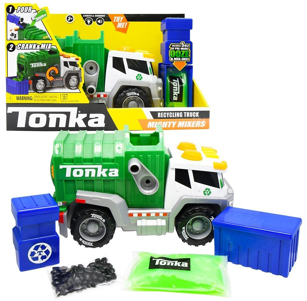 Tonka - Mega Machines - Mighty Mixers Lights and Sounds w/ SLIME!