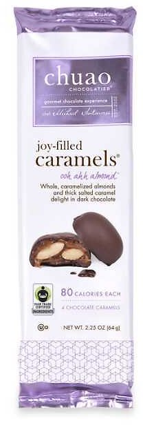 4 Piece Chuao Almond Caramels Set Of 2