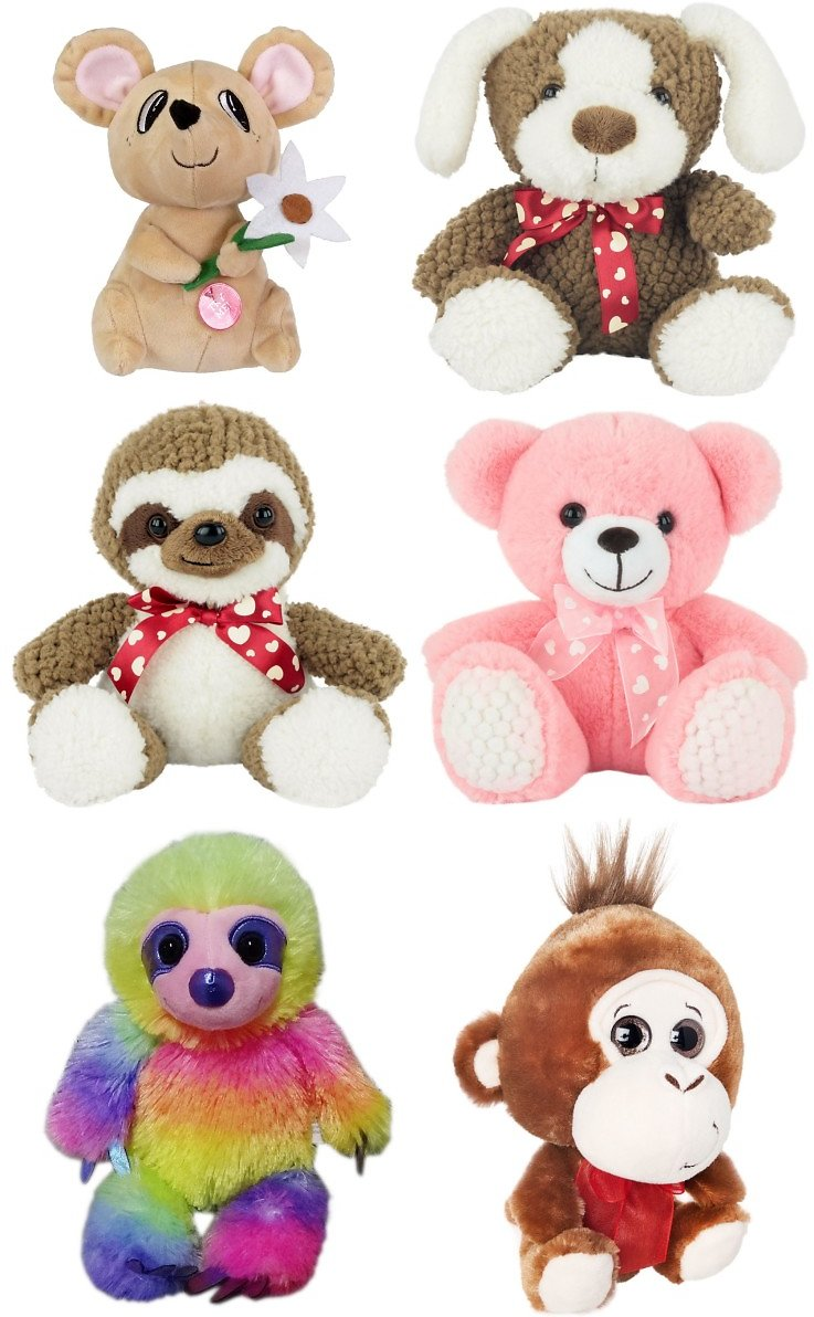 $1.49 Way To Celebrate Plush Toys - Various Styles (in-store Purchase Only)