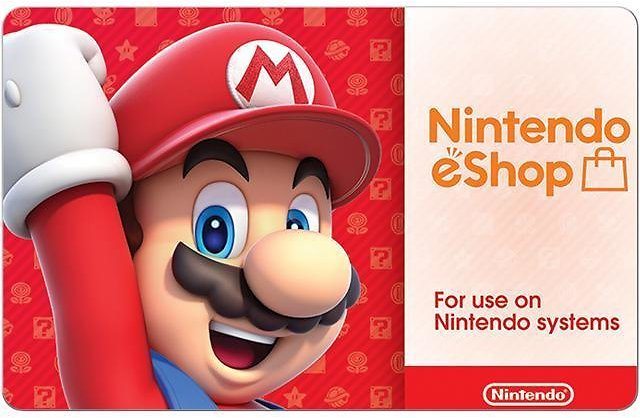 $50 Nintendo eShop Gift Cards Email Delivery