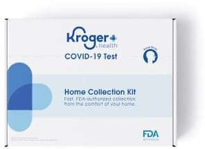 Voucher for COVID-19 Test Home Collection Kit Nasal Swab with Observation