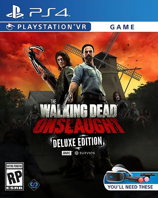 The Walking Dead Onslaught Deluxe Edition PlayStation 4, PlayStation 5
