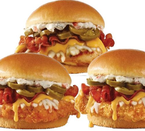 New Jalapeño Popper Sandwiches and Salad At Wendy's