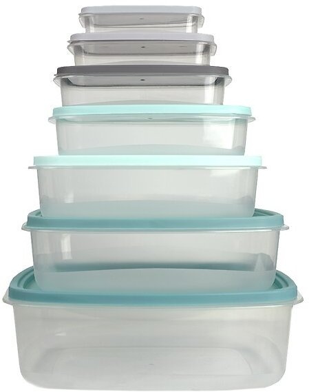 Alexys 7 Container Food Storage Set