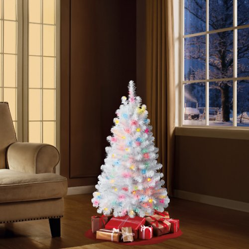 Pre-Lit Indiana Spruce 4' Christmas Tree (Green)