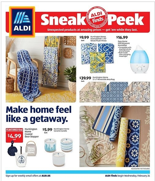 Upcoming ALDI Finds (Feb-24)