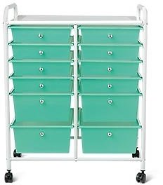 Huntington Home 12-Drawer Rolling Cart (In-Store)