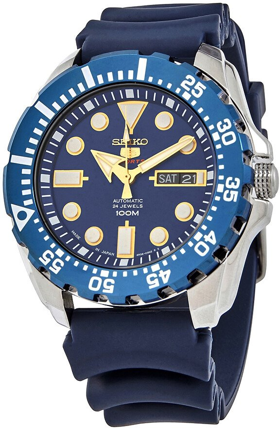 Seiko SEIKO 5 Automatic Blue Dial Men's Watch SRP605J2