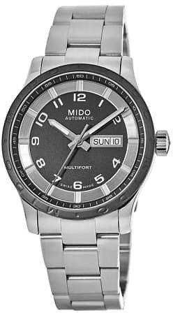 Multifort Automatic Day-Date Black Dial Stainless Steel Men's Watch M018.430.11.062.00