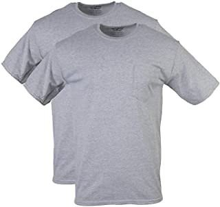Gildan Men's DryBlend Workwear T-Shirts with Pocket, 2-Pack At Amazon Men's Clothing Store
