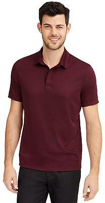 Men's AlfaTech Stretch Solid Polo Shirt