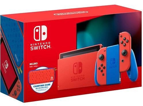 Nintendo Switch - Mario Red & Blue Edition - Switch - $358.99