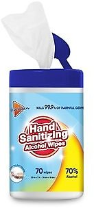 Alcohol Wipes, 70 Wipes (LK24070)