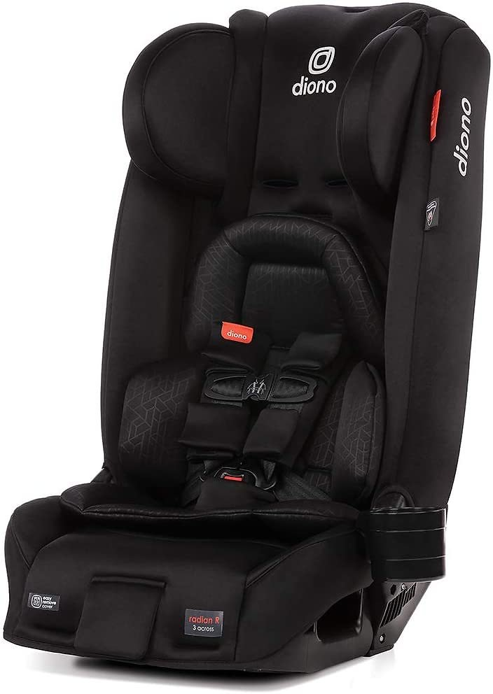 Diono Radian 3RXT, 4-in-1 Convertible Extended Rear and Forward Facing Convertible Car Seat (6 Colors)