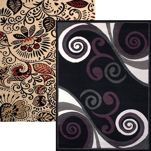 5' x 7' Area Rugs (4 Styles)