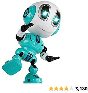 SOKY Talking Robot for Kids Boys Cool Toys for 3-8 Year Old Girls Birthday Gifts