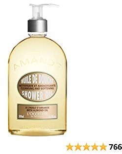 L'Occitane Cleansing & Softening Almond Shower Oil, 16.9 Fl Oz