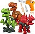 Amazon.com: Take Apart Dinosaur Toys for Boys Building Toy Set with Electric Drill Construction Engineering Play Kit STEM Learning for Kids Girls Age 3 4 5 Year Old: Toys & Games