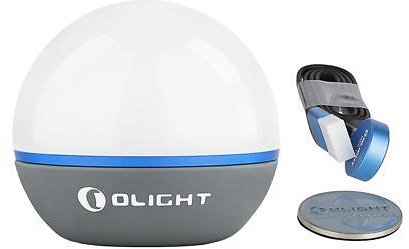 Olight Obulb USB Rechargeable Mini Light ORB With Magnet 55Lumens Multifunctional 4 Modes LED Floating Light Ball With Adhesive Metal Badge For Camping Hiking Night Work Power Outage Party