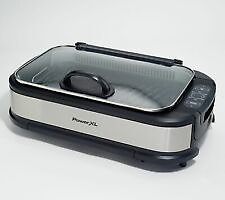 PowerXL 1500W Smokeless Grill Pro with Griddle Plate -Certified Refurbished