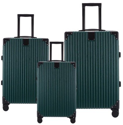 3-Piece Spinner Luggage Set Hardside 20, 24, 28-inch