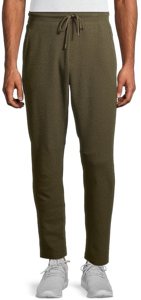Russell Men's and Big Men's Textured Yoga Pants, Up to Size 5XL