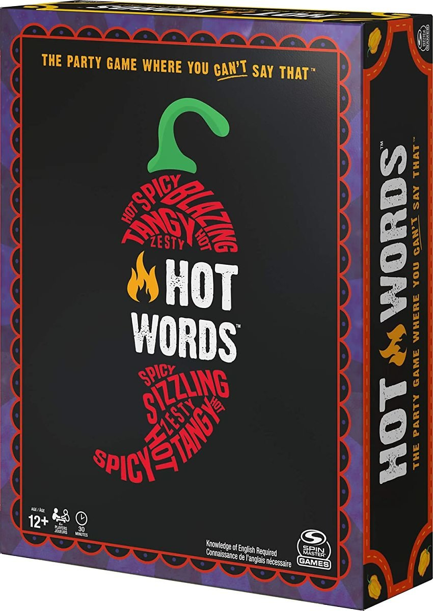 Hot Words, Word Guessing Party Game, for Adults and Teens Ages 16 and up