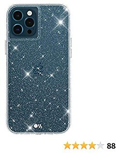 Case-Mate - Sheer Crystal - Case for IPhone 12 Pro Max (5G) - 10 Ft Drop Protection - 6.7 Inch - Crystal Clear