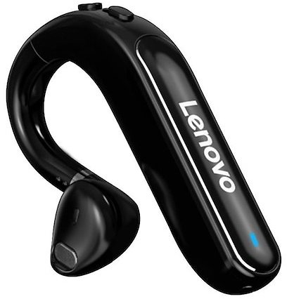 Lenovo, TW16 Conference Bluetooth 5.0 Earbuds Headphone Wireless Earhook Earphone with Microphone Lasts 40 Hours