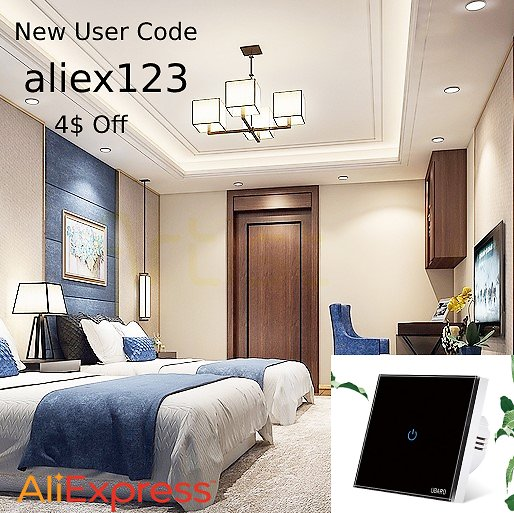 Take 37% Off + Save An Extra 4$ W/ Code Aliex123 I Touch Switch Power