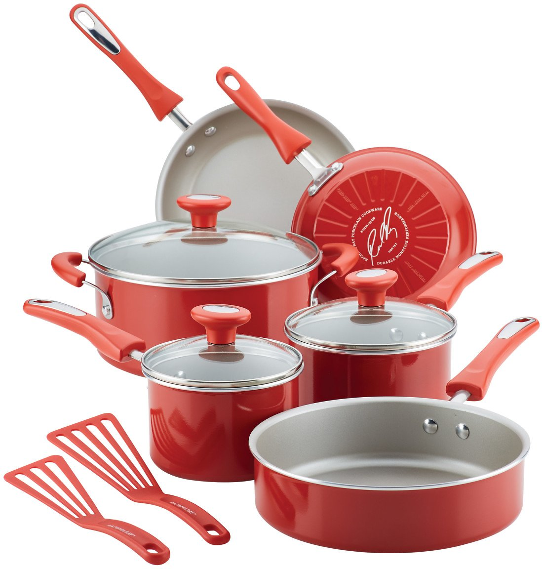 Rachael Ray 11-Piece Get Cooking! Pots and Pans Set