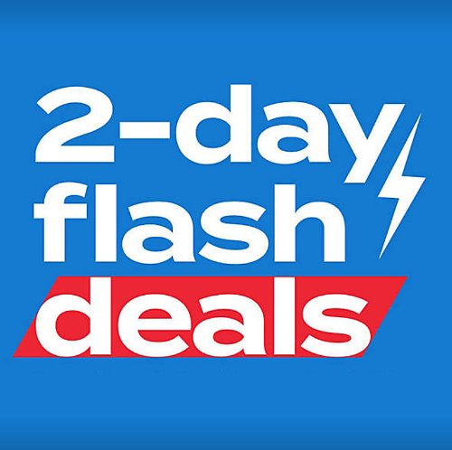 Up to 50% Off 2-Day Flash Deals