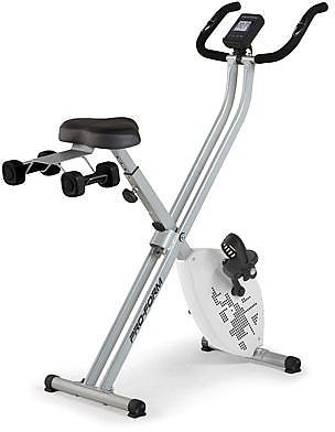 ProForm X-Bike Elite Folding Upright with IFit & 2 Lb. Weight Set - 8778247 | HSN