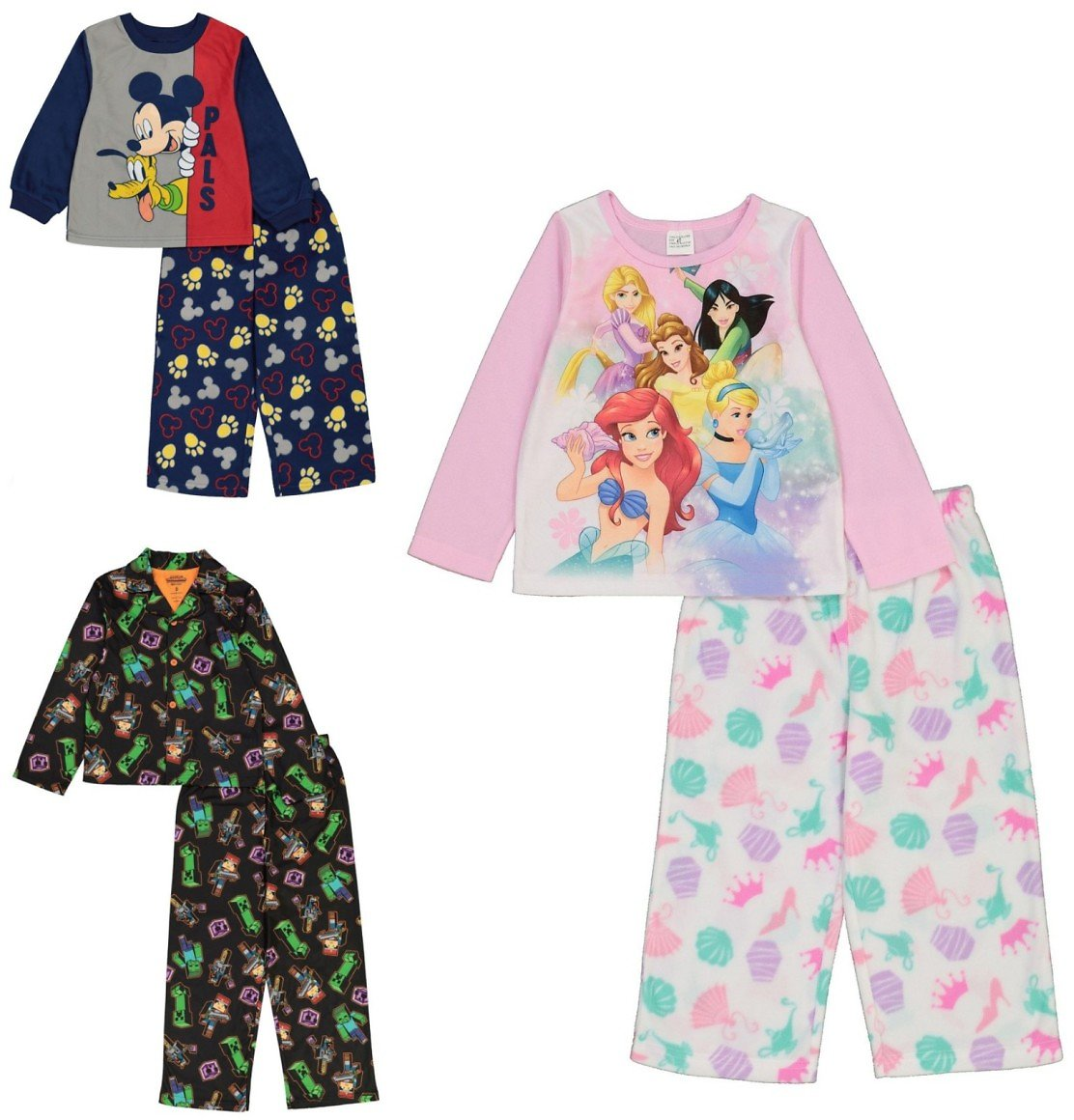 AME Toddlers' 2-piece Pajama Sets - Multiple Styles
