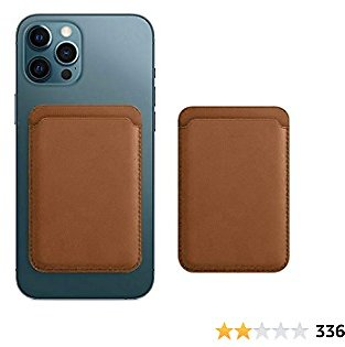 Magnetic Leather Wallet Compatible for IPhone 12