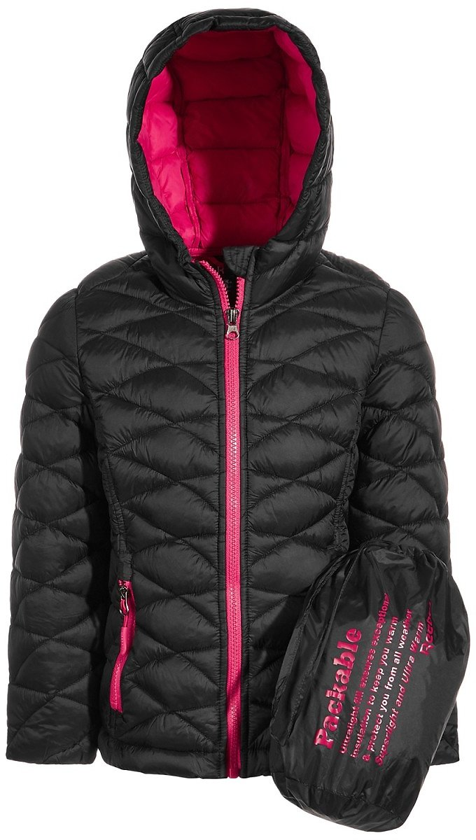 Reebok Big Girls Glacier Shield Packable Jacket