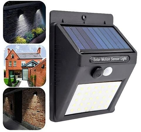 Solar Powered Motion Sensor Weather Proof Light Indoor-Outdoor COB LED Light