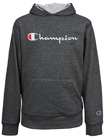 50% Off Champion Fleece Big Boys Embroidered Hoodie
