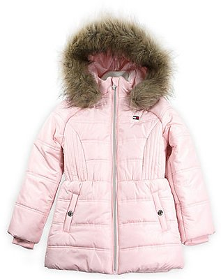 Tommy Hilfiger Toddler Girls Puffer Jacket
