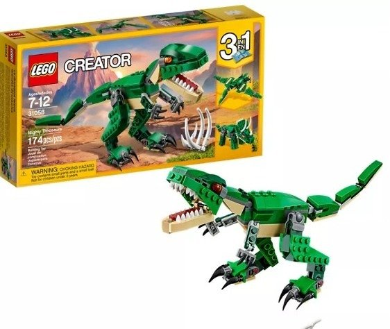 LEGO Mighty Dinosaurs Build It Yourself Set