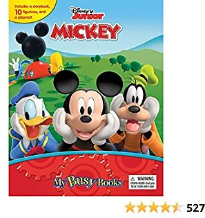 Mickey Mouse Clubhouse: Mouseka Fun! My Busy Books Hardcover – December 21, 2020