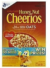 2x Cheerios Honey Nut Cereal