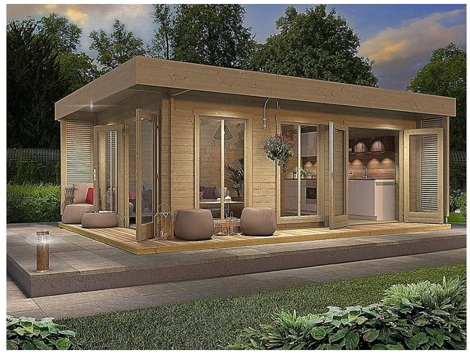 Garden House Cabin Kits Sale