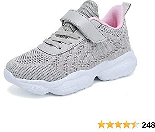 SOVIKER Kids Running Sneakers Tennis Shoes Lightweight Breathable Athletic Shoes for Boys and Girls