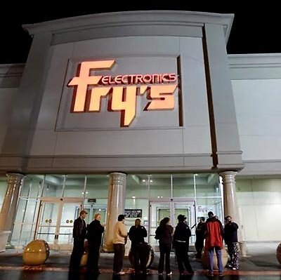 Fry's Electronics Closes All Stores!