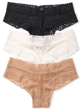 3-pack Lace Cheeky Panties