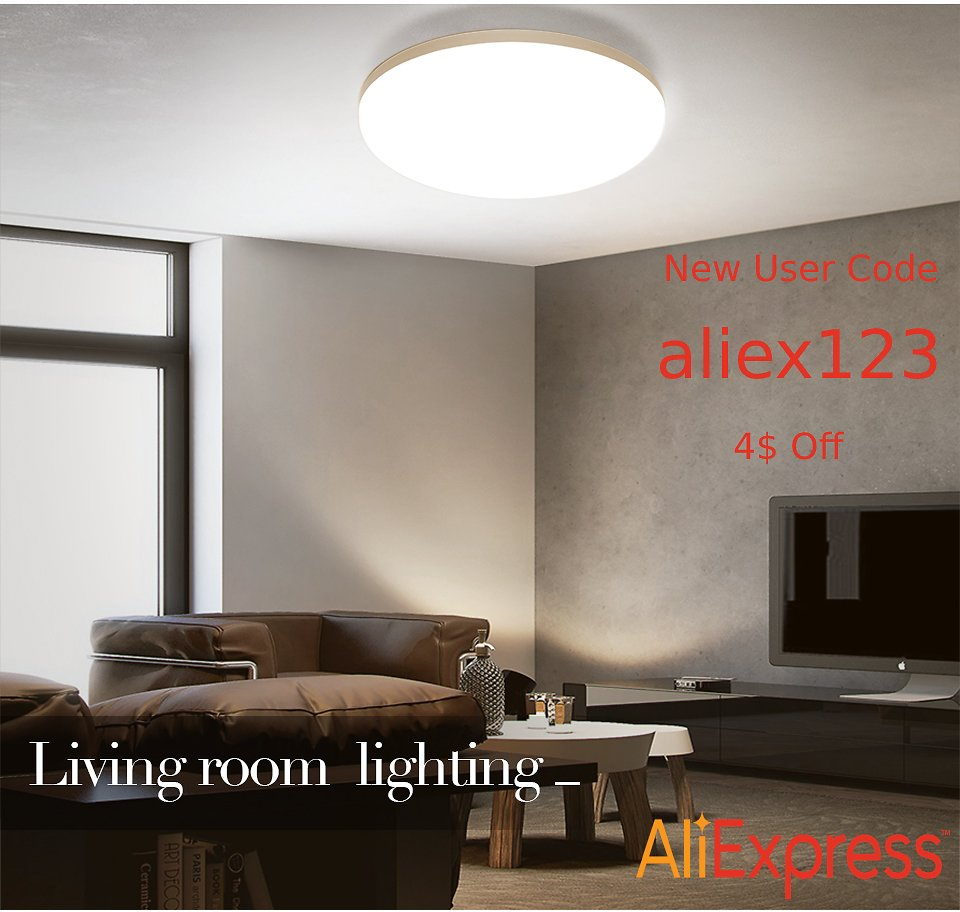 Take 44% Off + Extra 4$ Off W/ Code I LED Ceiling Lights for Room